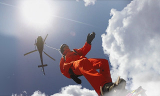 """Snowboarding in the Clouds With Adrian """"Wildman"""" Cenni"""