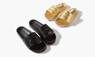 Solestruck x Stussy Spring 2015 Leather Slides