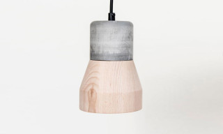 Cement and Wood Come Together in Specimen Editions' Newest Lamp