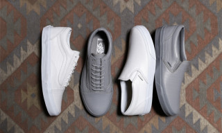 "Vans ""Croc Leather CA"" Collection"