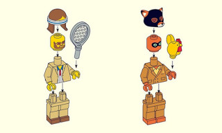 Wes Anderson Characters as LEGO Minifigures