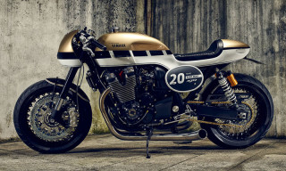 "Yamaha Celebrate 20 Years of the XJR With XJR1300 ""Dissident"""