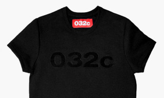 032c Drops Paradoxically Short-Sleeved Sweatshirts for Summer