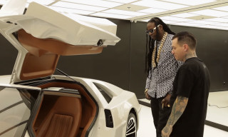 2 Chainz Checks Out will.i.am's $1 Million Ride in GQ's 'Most Expensivest Shit'