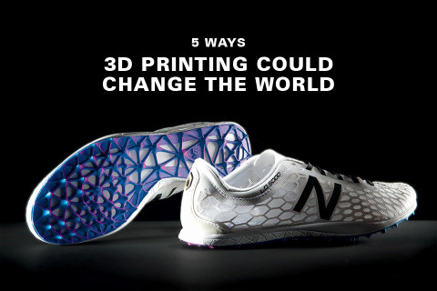 5 Ways 3D Printing Could Change the World