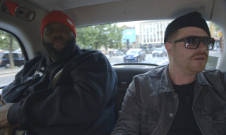 Watch Run the Jewels Perform in the Back of a London Taxi