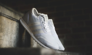 adidas Originals Drops Crisp Whiteout Los Angeles Sneaker