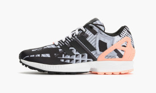 "adidas Originals Mixes Masculinity With Femininity in ZX Flux ""Light Flash Orange"""