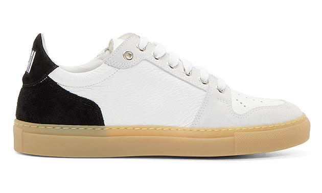 Leather And Suede Sneakers Ami IivLLt2lq