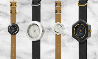 These Marble Watches From Analog Watch Co. Are a World's First