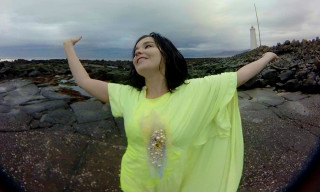 "Explore the Coast of Iceland in Björk's 360° Virtual-Reality Music Video for ""Stonemilker"""