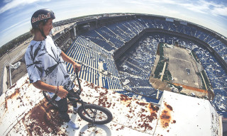 BMX Rider Tyler Fernengel Sessions the Detroit Lions' Abandoned Football Stadium