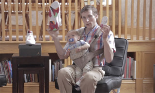 "Brad Hall Returns With an Unexplained Baby to Review the Air Jordan 7 Retro ""Hare"""