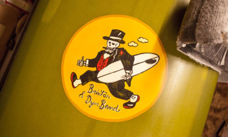 Brixton & Dyer Brand Create Custom Surfboard and Swim Trunk