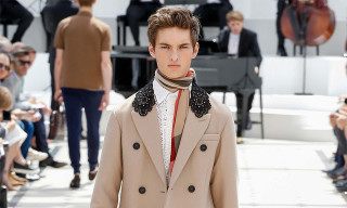 Burberry Prorsum Is All Laced up for London Collections Men Spring/Summer 2016