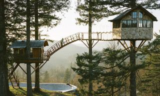 Cinder Cone Treehouse Is the Realization of a Childhood Dream