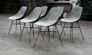 Naked Simplicity With the D'Hauteville Concrete Chair