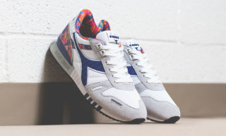 Diadora Wraps the Titan II in Paisley