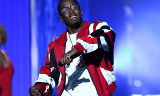 Diddy Presents Red adidas Yeezy Boost 350 at 2015 BET Awards