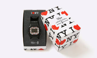 "DQM Team up With Journal Standard On ""I LOVE NY"" G-SHOCK Watch"