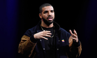 Drake Sports Vintage Apple Jacket at Apple WWDC 2015