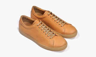 Epaulet Drops a New Set of Unfinished Horsehide Trainers​