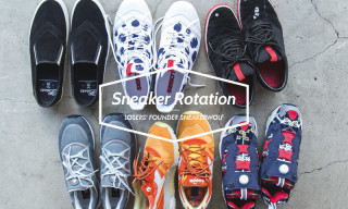 Sneaker Rotation | LOSERS' Founder Sneakerwolf