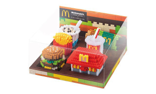 Nanoblocks' New Range With McDonald's Sells Out in Hours