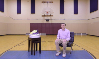 "Brad Hall Takes His Sneaker Reviewing Skills on-Court for a ""Performance Review"""