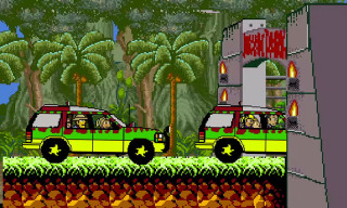 Jurassic Park as an 8-Bit Video Game Is Amazing