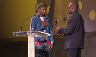 Watch Kanye West Present Pharrell Williams With the CFDA Fashion Icon Award