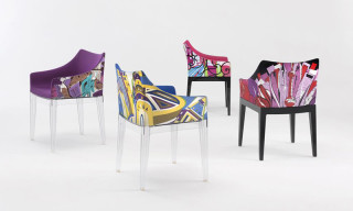 Kartell Collaborates With Emilio Pucci on New Madame Chairs