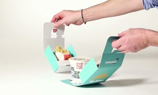 McDonald's Innovates With Bike-Friendly Takeout Packaging