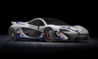 McLaren Honors Alain Prost With Special P1