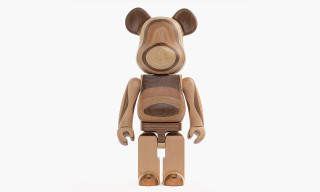 Japanese Wood-Makers Karimoku Present a 1000% Layered Wood Be@rbrick