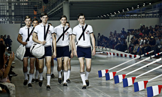 Moncler Gamme Bleu Goes Rowing for Spring 2016