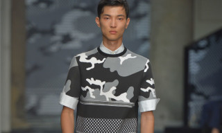 Neil Barrett Goes All-In With Patterns for Spring 2016