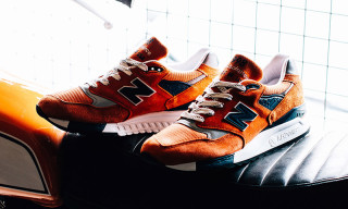 New Balance Releases New Orange Colorway of the Connoisseur 998 for Summer