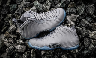 "Nike Releases Air Foamposite One Premium in ""Wolf Grey"" Colorway"