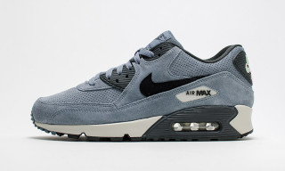 "Nike Drops a Perforated ""Blue Graphite"" Colorway of the Air Max 90"