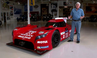 Nissan GT-R LM Nismo Sets up Shop in Jay Leno's Garage