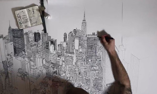 Patrick Vale Illustrates New York City in 'Colossus'