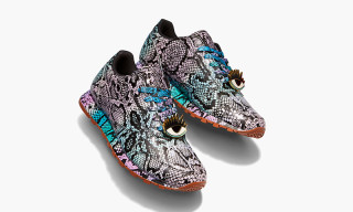 Reebok Classic and Melody Ehsani Release Colorful Python Leather Lux Sneaker