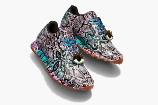 af60cb2baed718 Reebok Classic and Melody Ehsani Release Colorful Python Leather Lux Sneaker