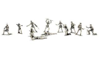 "Nostalgia Meets Design With the ""Silver Army Men"" Squadron"
