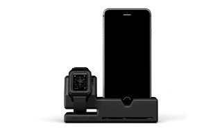 Store and Charge Your iPhone and Apple Watch at the Same Time With Simple Station
