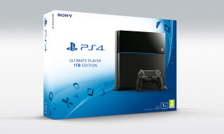 Sony's New PlayStation 4 Arrives Next Month With 1TB Hard Drive