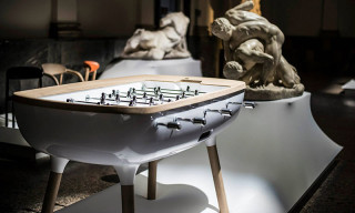 Contemporary Foosball Table by Alain Gilles