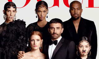 Vogue Japan's August 2015 Cover Features Riccardo Tisci, Kendall Jenner & Kanye West Together