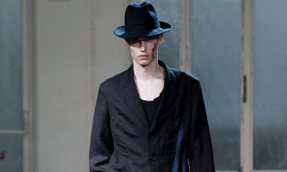 Yohji Yamamoto Goes to Art Class for Spring/Summer 2016